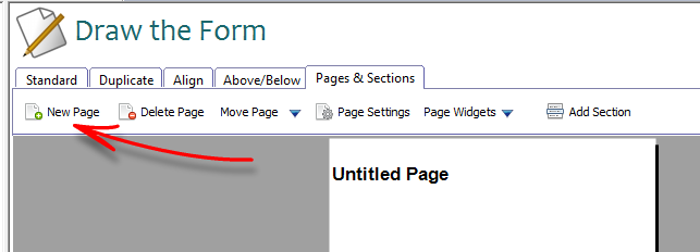 How to create a multi-page form| Simfatic Forms 5 0 Help