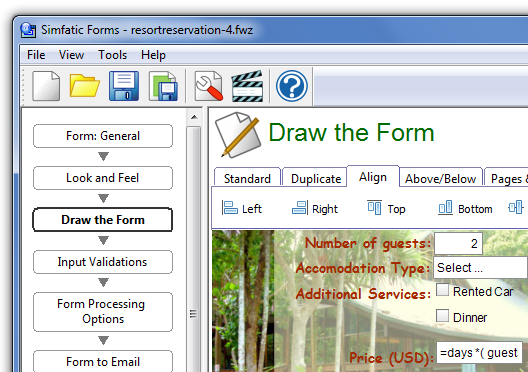 Simfatic Forms : build unlimited web forms.