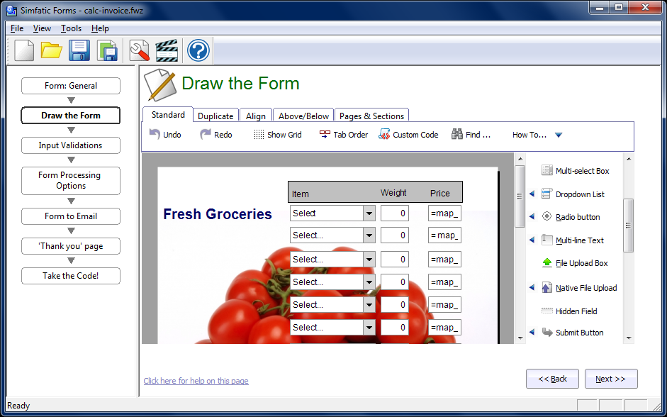 draw-form-large Online Form Builder And Database on graph table, clip art, how develop, academic journals,