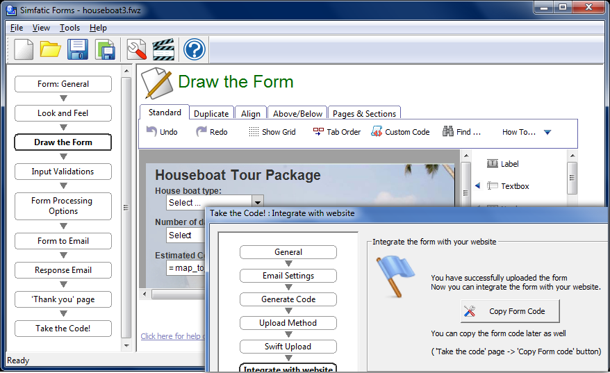 Build smart forms using this PHP form builder with MySQL support